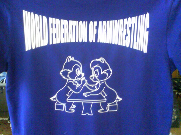 Футболка WORLD FEDERATION OF ARMWRESTLING