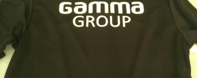 Нанесение логотипа «Gamma Group» на форму