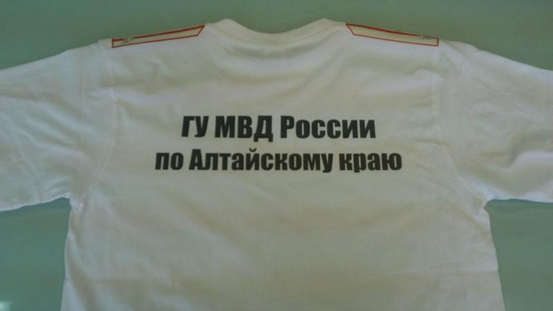 Футболка подарочная МВД