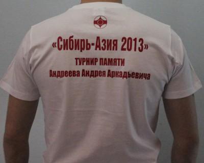 Футболка «Сибирь-Азия»